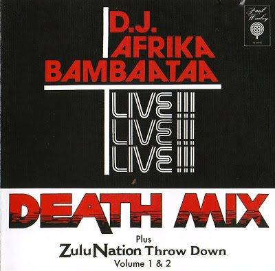 D.J. Afrika Bambaataa – Death Mix Plus Zulu Nation Throw Down Volume 1 & 2 EP (CD) (2007) (320 kbps)