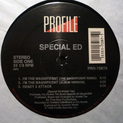 Special Ed – I'm The Magnificent (12″) (1990) (320 kbps)