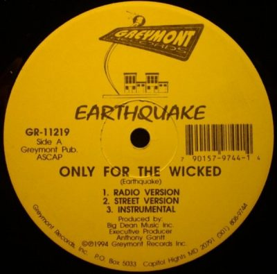 Earthquake – Only For The Wicked (VLS) (1994) (256 kbps)