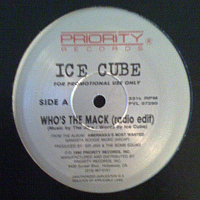 Ice Cube – Who's The Mack (Promo VLS) (1990) (FLAC + 320 kbps)