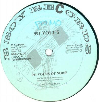991 Volts ‎– 991 Volts Of Noise / Time Will Tell (VLS) (1988) (320 kbps)