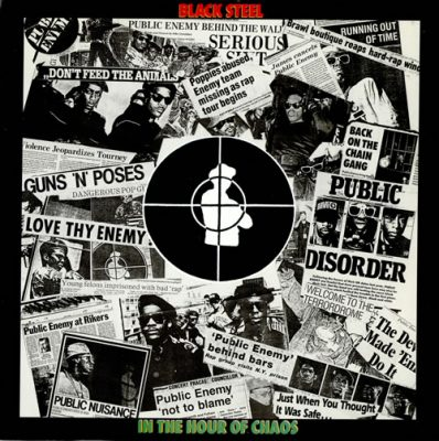 Public Enemy – Black Steel In The Hour Of Chaos (CDS) (1989) (FLAC + 320 kbps)