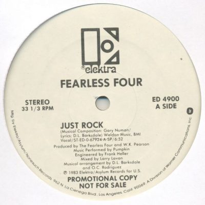 Fearless Four – Just Rock / Got To Turn Out (1983) (VLS) (320 kbps)