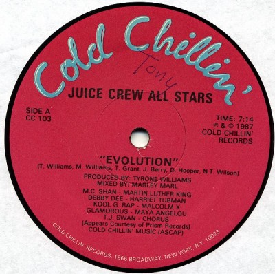 Juice Crew All Stars – Evolution / Juice Crew All-Stars (VLS) (1987) (320 kbps)
