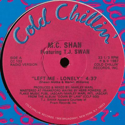 MC Shan – Left Me Lonely (VLS) (1987) (320 kbps)