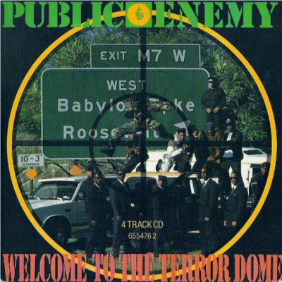 Public Enemy – Welcome To The Terrordome (VLS) (1989) (FLAC + 320 kbps)