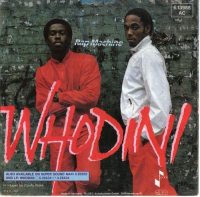 Whodini – Rap Machine (VLS) (1983) (320 kbps)