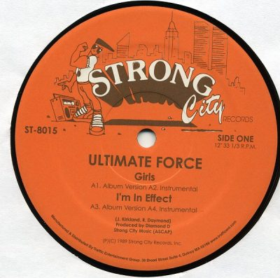 Ultimate Force – Girls / I'm In Effect / Supreme Diamond D (VLS) (1989) (320 kbps)