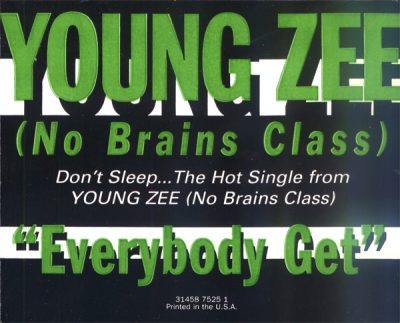Young Zee – Everybody Get (CDS) (1996) (320 kbps)