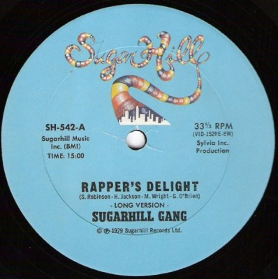 Sugarhill Gang – Rapper's Delight (VLS) (1979) (FLAC + 320 kbps)