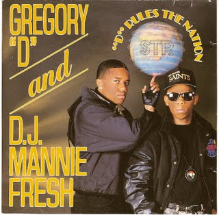 Gregory D And DJ Mannie Fresh – D Rules The Nation (CD) (1989) (320 kbps)