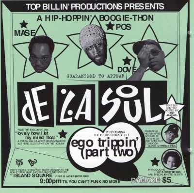 De La Soul – Ego Trippin' (Part Two) (CDS) (1993) (FLAC + 320 kbps)