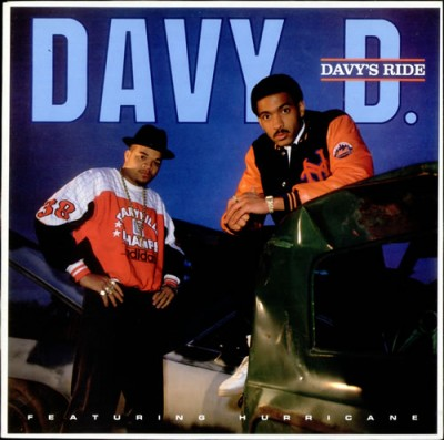 Davy D Featuring Hurricane – Davy's Ride (CD) (1987) (FLAC + 320 kbps)