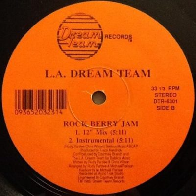L.A. Dream Team – The Dream Team Is In The House! / Rockberry Jam (VLS) (FLAC + 320 kbps)