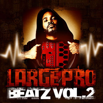 Large Pro – Beatz Volume 2 (CD) (2007) (320 kbps)