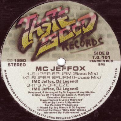 MC Jeffox – Super Spurm (1990) (VLS) (VBR)