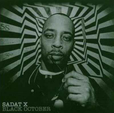 Sadat X - Black October [Front]