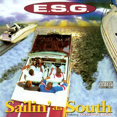 E.S.G. – Sailin' Da South (CD) (1995) (FLAC + 320 kbps)