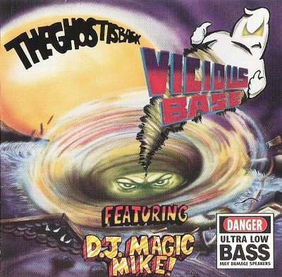 Vicious Base & D.J. Magic Mike – The Ghost Is Back (CD) (1997) (320 kbps)
