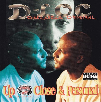 D-Loc – Up Close & Personal (CD) (1998) (FLAC + 320 kbps)