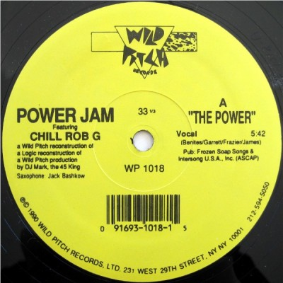 Power Jam And Chill Rob G - The Power