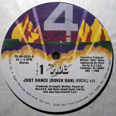 MC ADE – Just Dance (Dover Dan) (1988)(VLS) (256 kbps)
