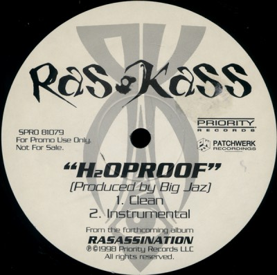Ras Kass – H20Proof (VLS) (1998) (320 kbps)