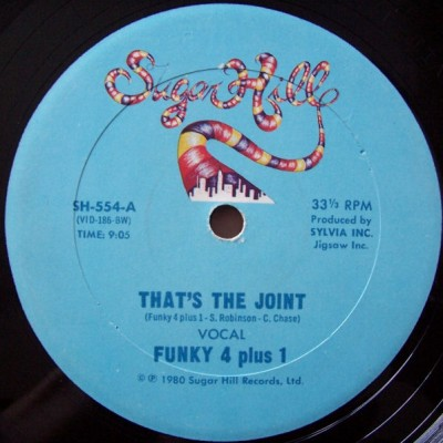 Funky 4 + 1 – That's The Joint (VLS) (1980) (FLAC + 320 kbps)