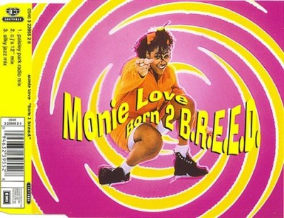 Monie Love – Born 2 B.R.E.E.D. (CDS) (1993) (FLAC + 320 kbps)