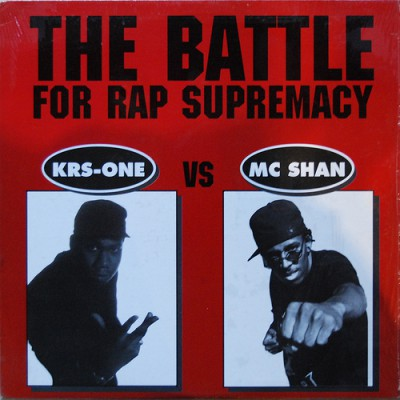KRS-One vs. MC Shan – The Battle For Rap Supremacy (CD) (1996) (FLAC + 320 kbps)