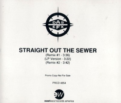 Das EFX - Straight Out The Sewer CDS