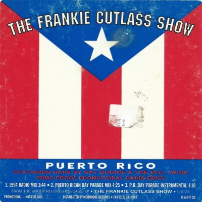 Frankie Cutlass - Puerto Rico (CD Single)
