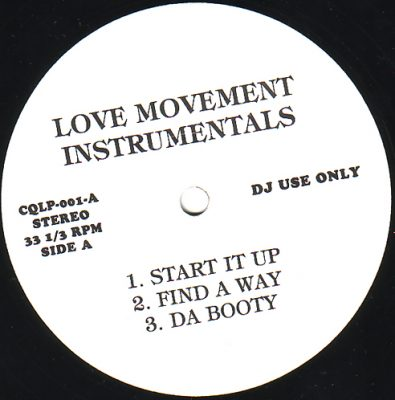 A Tribe Called Quest – The Love Movement (Instrumentals) (1998) (Vinyl) (192 kbps)