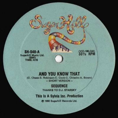The Sequence - And You Know That (Side A)