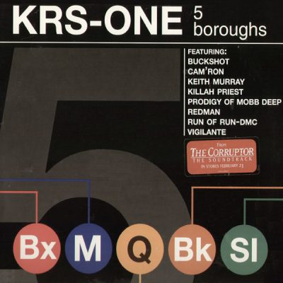 KRS-One – 5 Boroughs (CDM) (1998) (FLAC + 320 kbps)