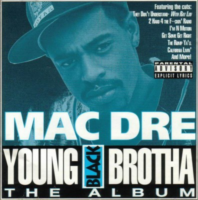 Mac Dre – Young Black Brotha (CD) (1993) (FLAC + 320 kbps)