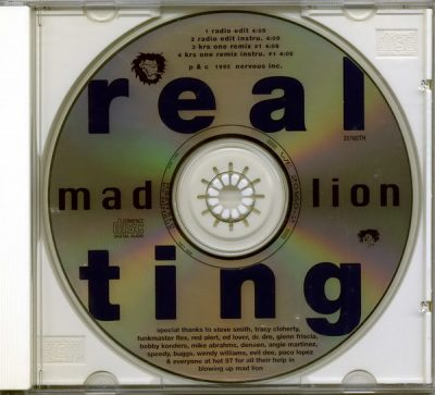 Mad Lion – Real Ting (Promo CDS) (1995) (320 kbps)