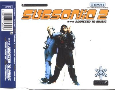 Subsonic 2 – Addicted To Music (1991) (CDS) (320 kbps)