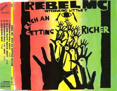 Rebel MC – Rich Ah Getting Richer (CDM) (1992) (FLAC + 320 kbps)
