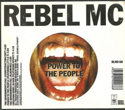 Rebel MC – The Governments Fail (CDS) (1992) (FLAC + 320 kbps)
