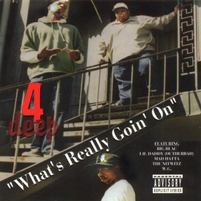 4 Deep – What's Really Goin' On (CD) (1994) (320 kbps)