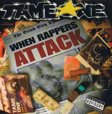 Tame One – When Rappers Attack (CD) (2003) (FLAC + 320 kbps)
