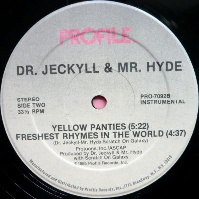 Dr. Jeckyll & Mr. Hyde – Yellow Panties (VLS) (1985) (FLAC + 320 kbps)