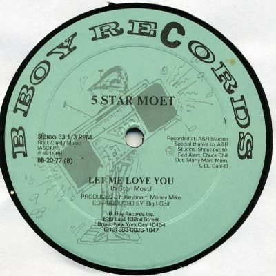 5 Star Moet – In Full Effect / Let Me Love You (VLS) (1988) (FLAC + 320 kbps)