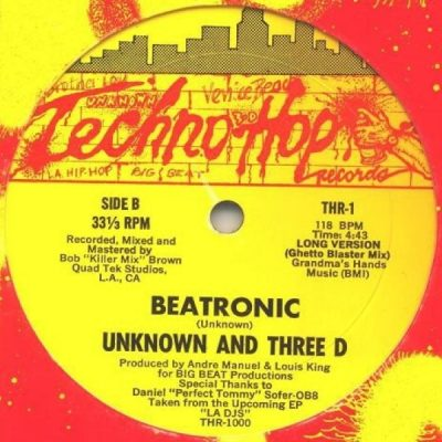 Unknown & Three D – Beatronic (VLS) (1984) (FLAC + 320 kbps)