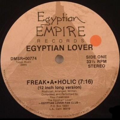 The Egyptian Lover ‎– Freak-A-Holic (VLS) (1986) (FLAC + 320 kbps)