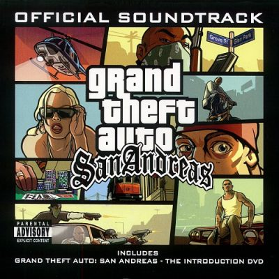 OST – Grand Theft Auto San Andreas (2xCD) (2004) (FLAC + 320 kbps)