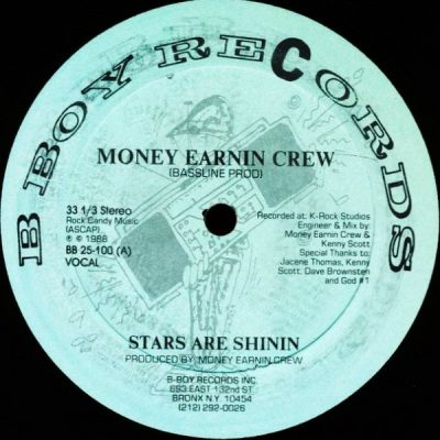 Money Earnin Crew – Stars Are Shinin (VLS) (1988) (FLAC + 320 kbps)