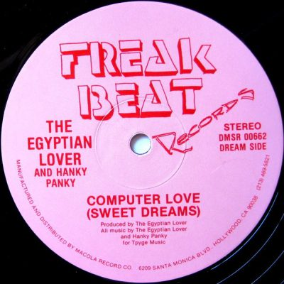 Egyptian Lover – Computer Love (Sweet Dreams) / And My Beat Goes Boom (1985) (VLS) (FLAC + 320 kbps)