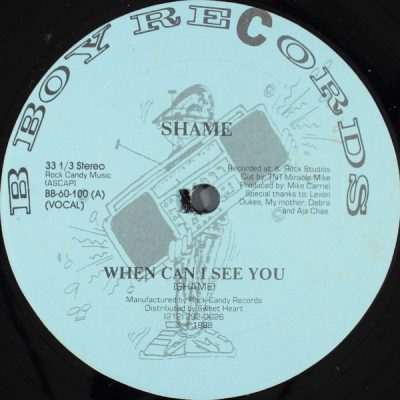 Shame – When Can I See You (VLS) (1988) (FLAC + 320 kbps)